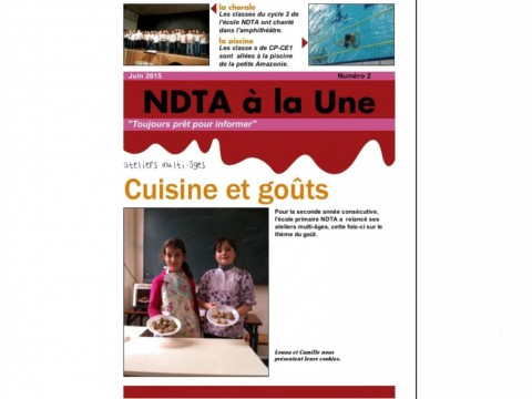 journal 2015 couverture