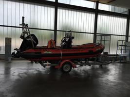 le bateau des sauvetages en mer