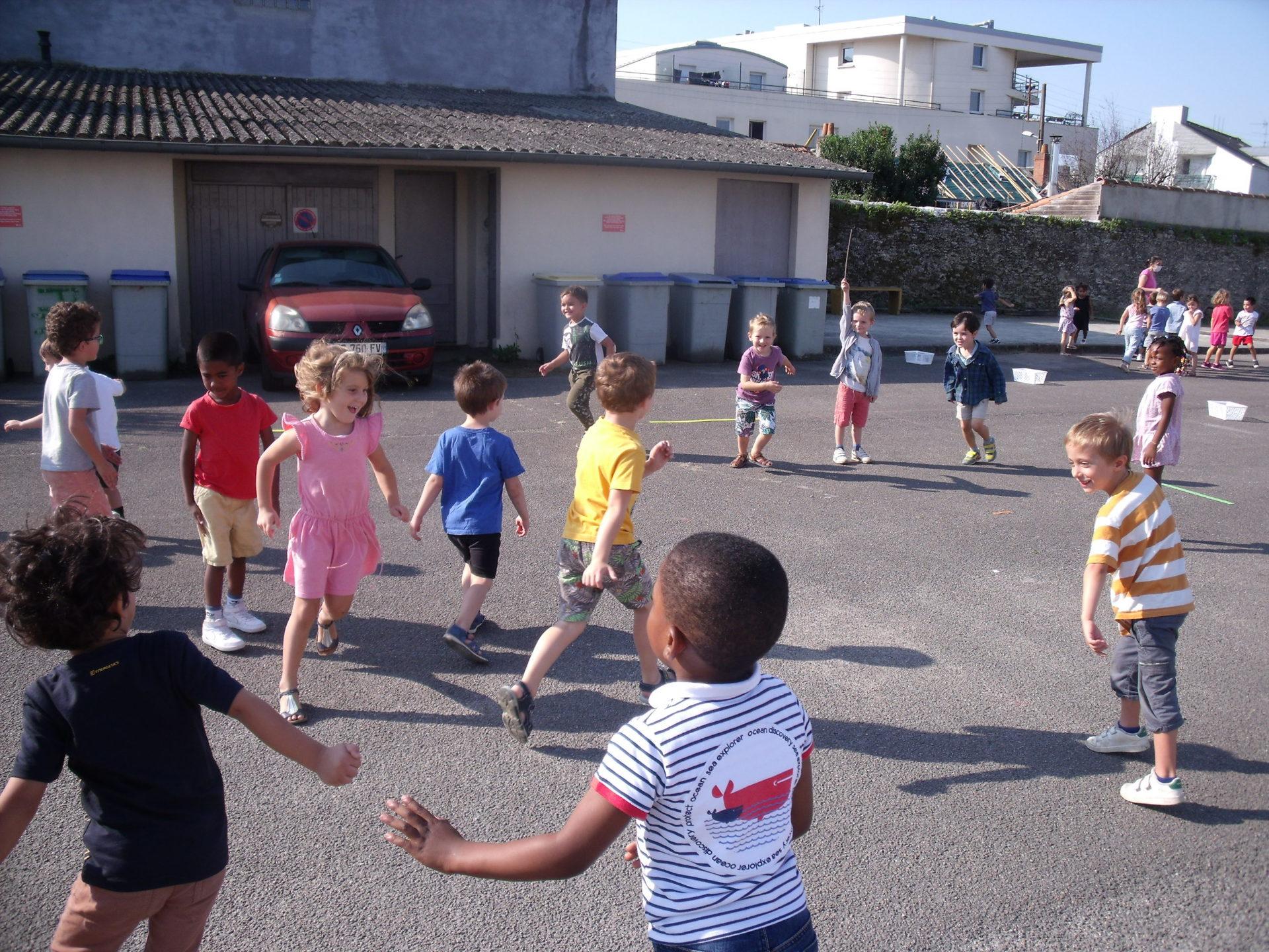 Athlétisme en maternelle